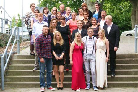 Berufsbildungszentrum Plu00f6n - Abschlussklassen 2015
